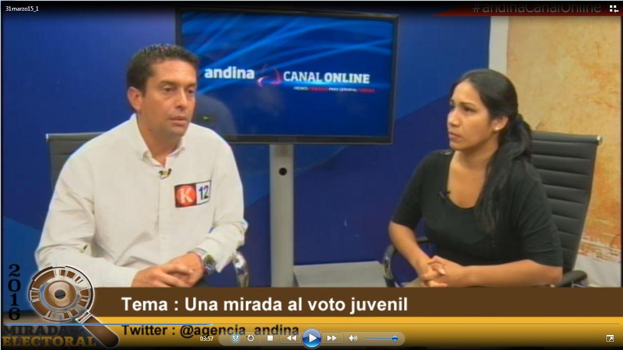 Voto Milenial: Candidato Miguel Torres difundió propuestas para jóvenes electores
