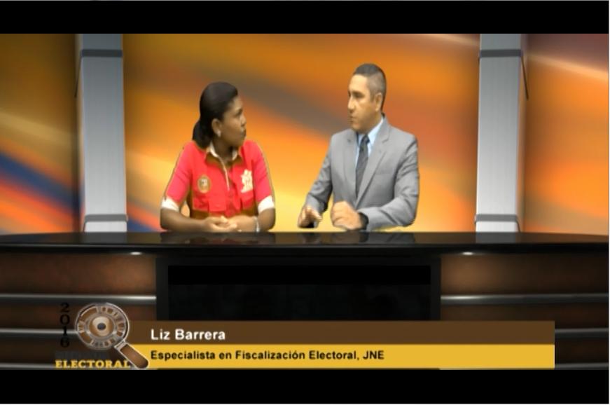Voto milenial: Liz Barrera - Especialista en Fiscalización Electoral - JNE