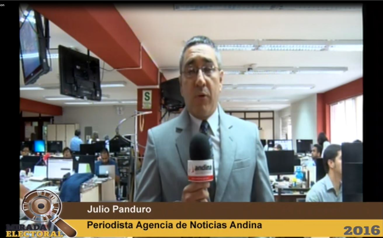 Resultados de las Elecciones 2016 en Andina Canal Online