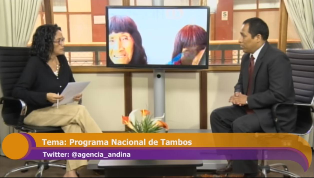 Incluir para Crecer: Programa Nacional Tambos