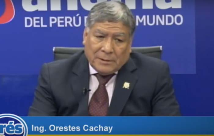 Candidato al rectorado de la Universidad Nacional Mayor de San Marcos Ing. Orestes Cachay, expone sus propuestas