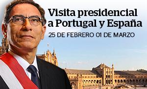 Visita presidencial a España y Portugal