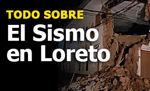 Sismo en Loreto