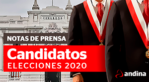 Notas de prensa candidatos congresales 2020