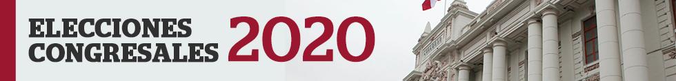Elecciones congresales 2020