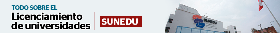 Licenciamiento de universidades por la Sunedu