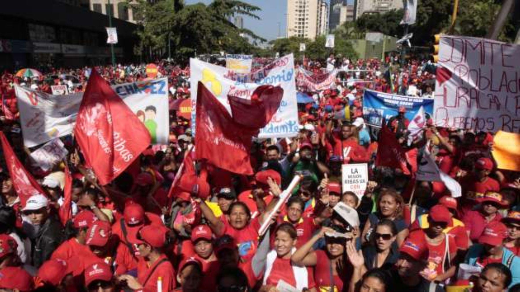 """Diosdao Cabello convoca a chavistas para """"defender revolución"""". INTERNET/Medios"""