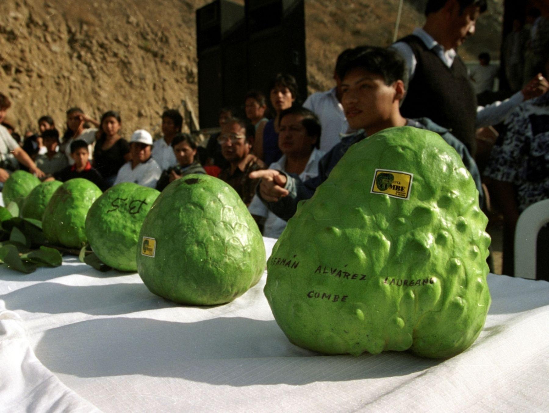 Países europeos interesados en chirimoya cumbe de Huarochirí | News |  ANDINA - Peru News Agency