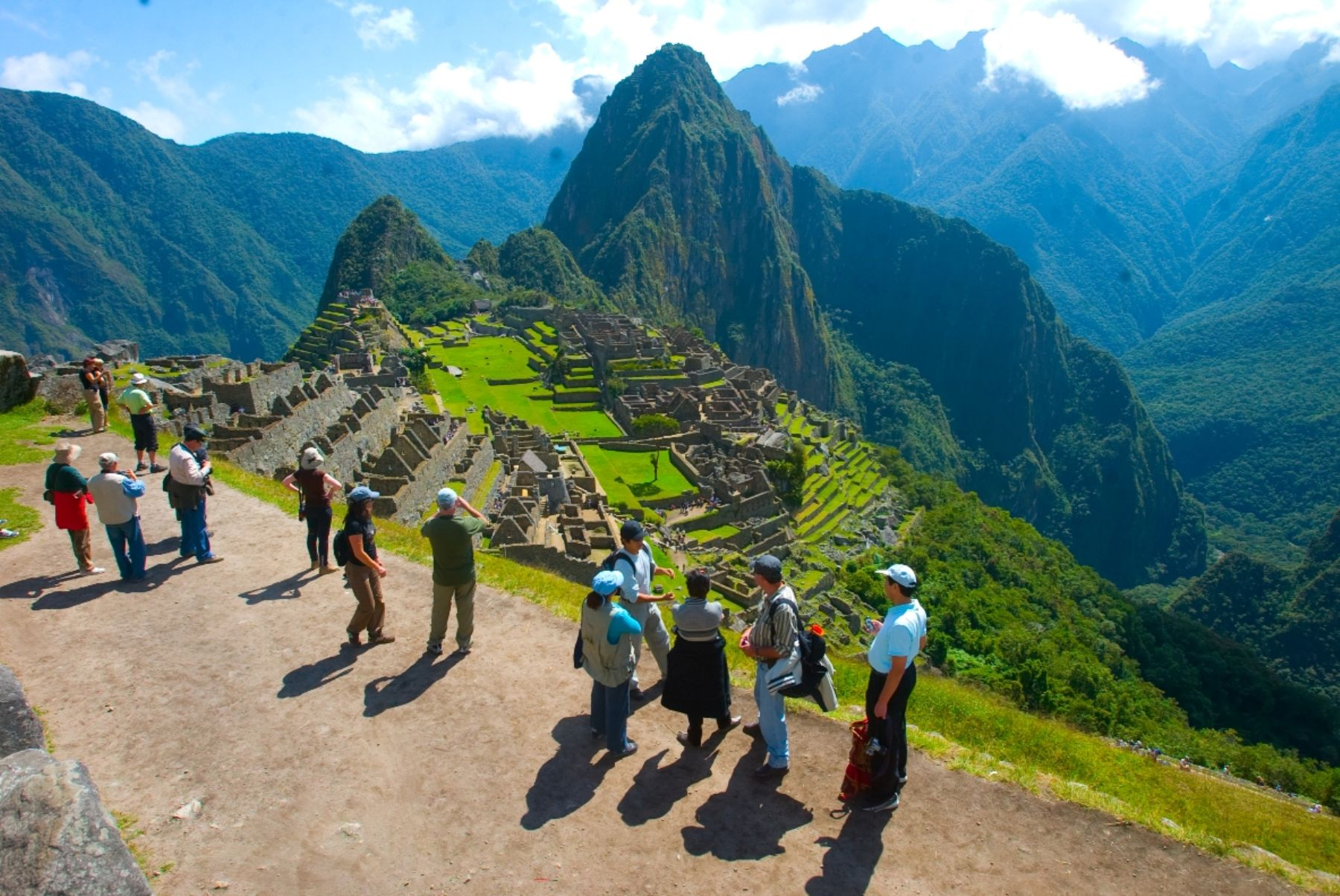 Machu Picchu is the top tourist destination in Peru.