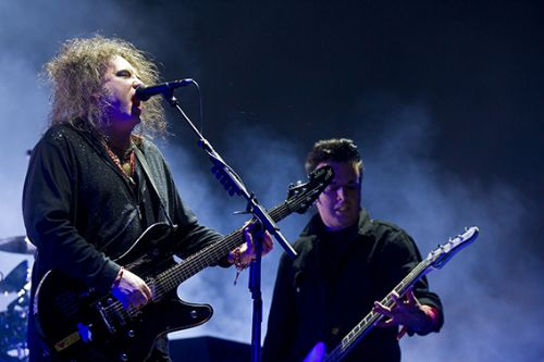 The Cure en Lima en 2014. ANDINA/archivo