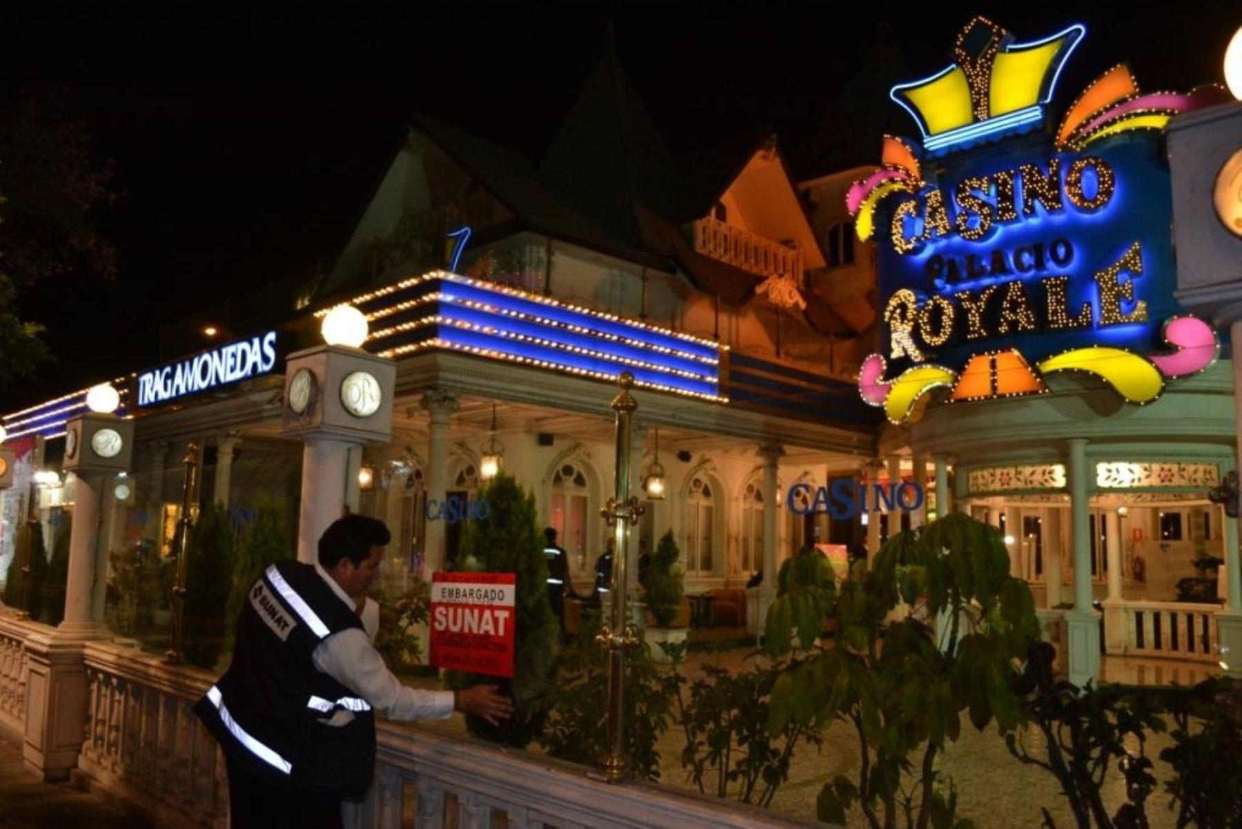 Lima (PERU).- Sunat intervino 64 casinos con deudas tributarias por más de S/. 24 millones.