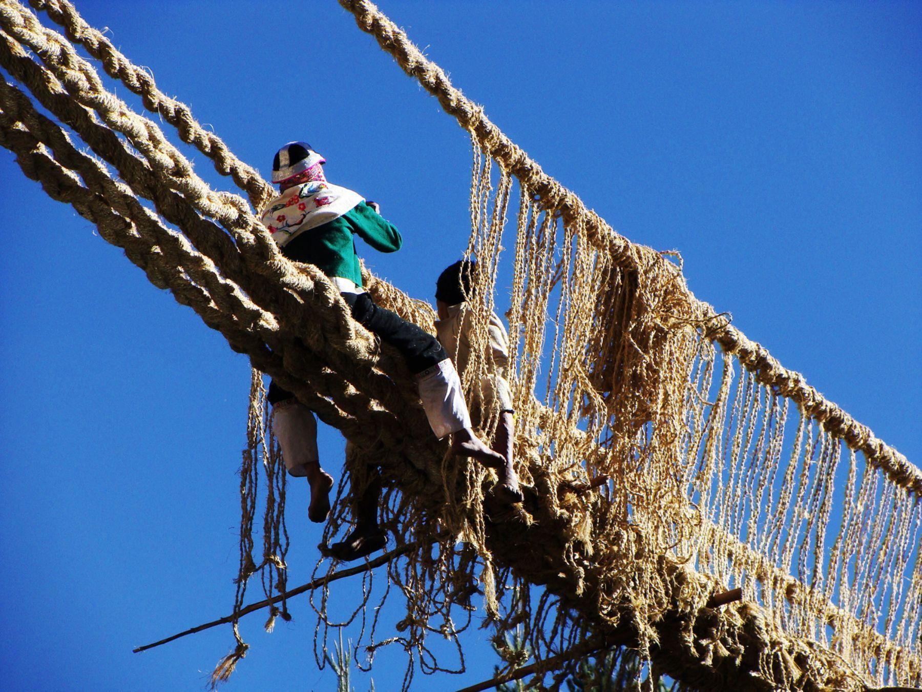 Cusco promoverá la visita de turistas al histórico puente inca Q