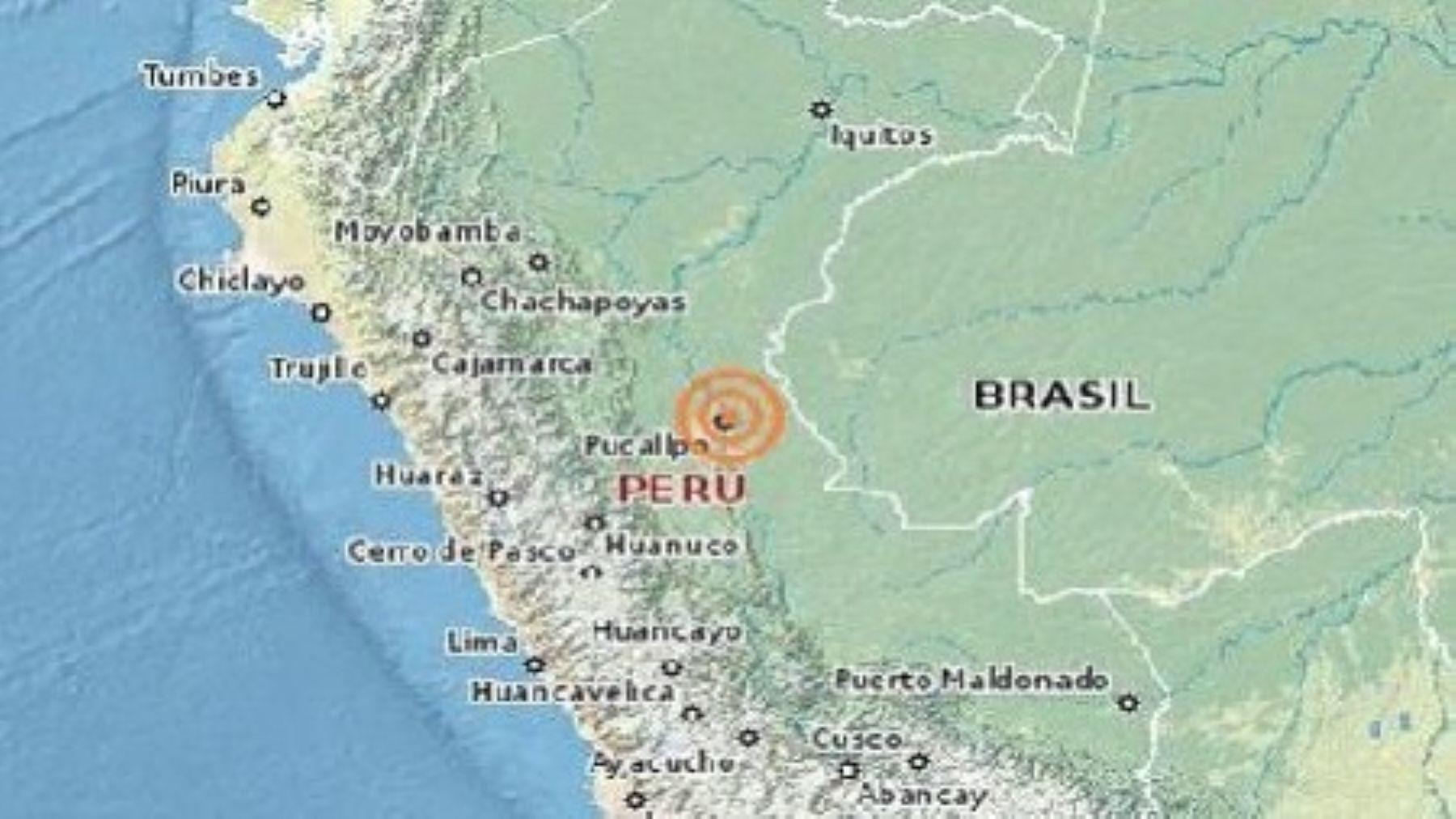 Un sismo de magnitud 4.1 en la escala de Richter se registró esta tarde s 23 kilómetros al sureste de la ciudad de Pucallpa, provincia de Coronel Portillo, región Ucayali, reportó el Instituto Geofísico del Perú (IGP).I NTERNET/Medios