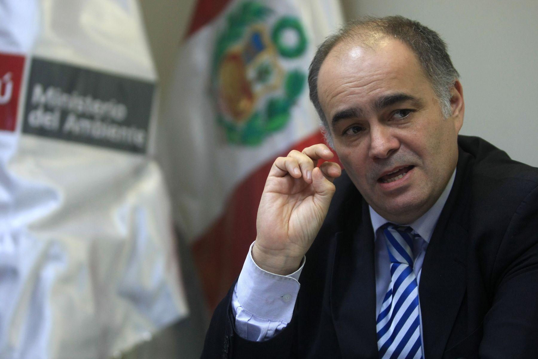 Gabriel Quijandria, Deputy Minister for Strategic Development of Natural Resources of Peru