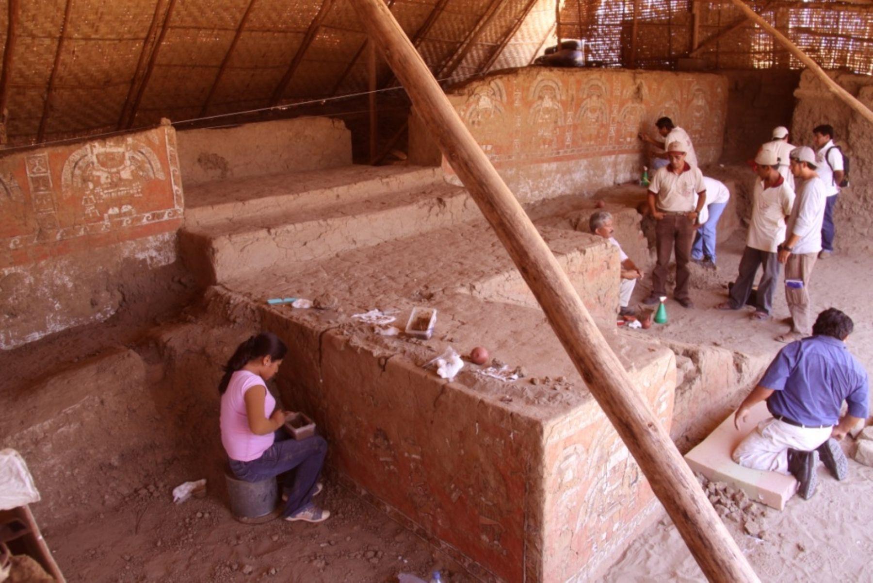 El Señor de Úcupe fue hallado en el interior del complejo arqueológico del mismo nombre ubicado en el distrito de Zaña, Lambayeque.