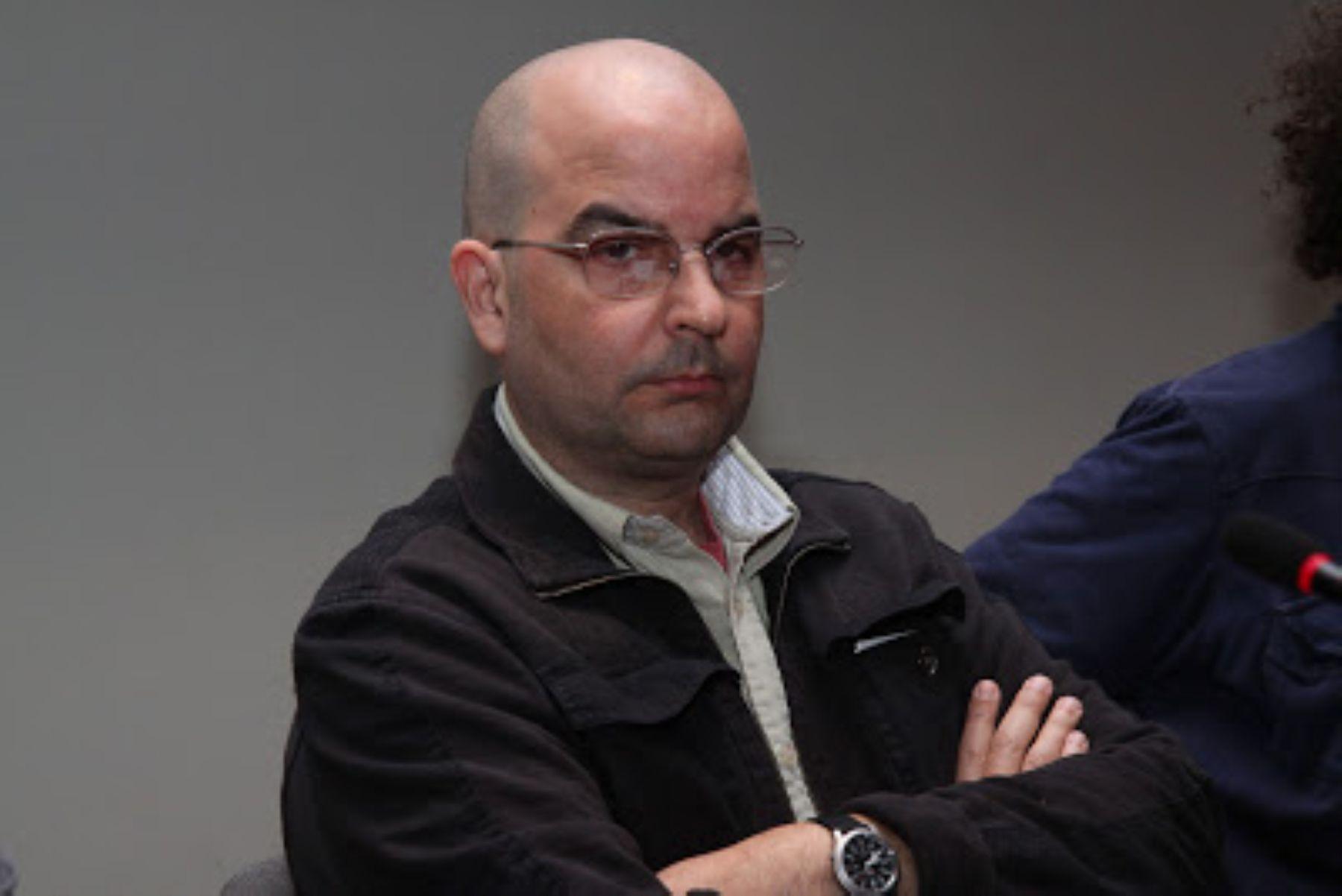 Eduardo Lalo, escritor puertorriqueño que ganó el más reciente premio Rómulo Gallegos.