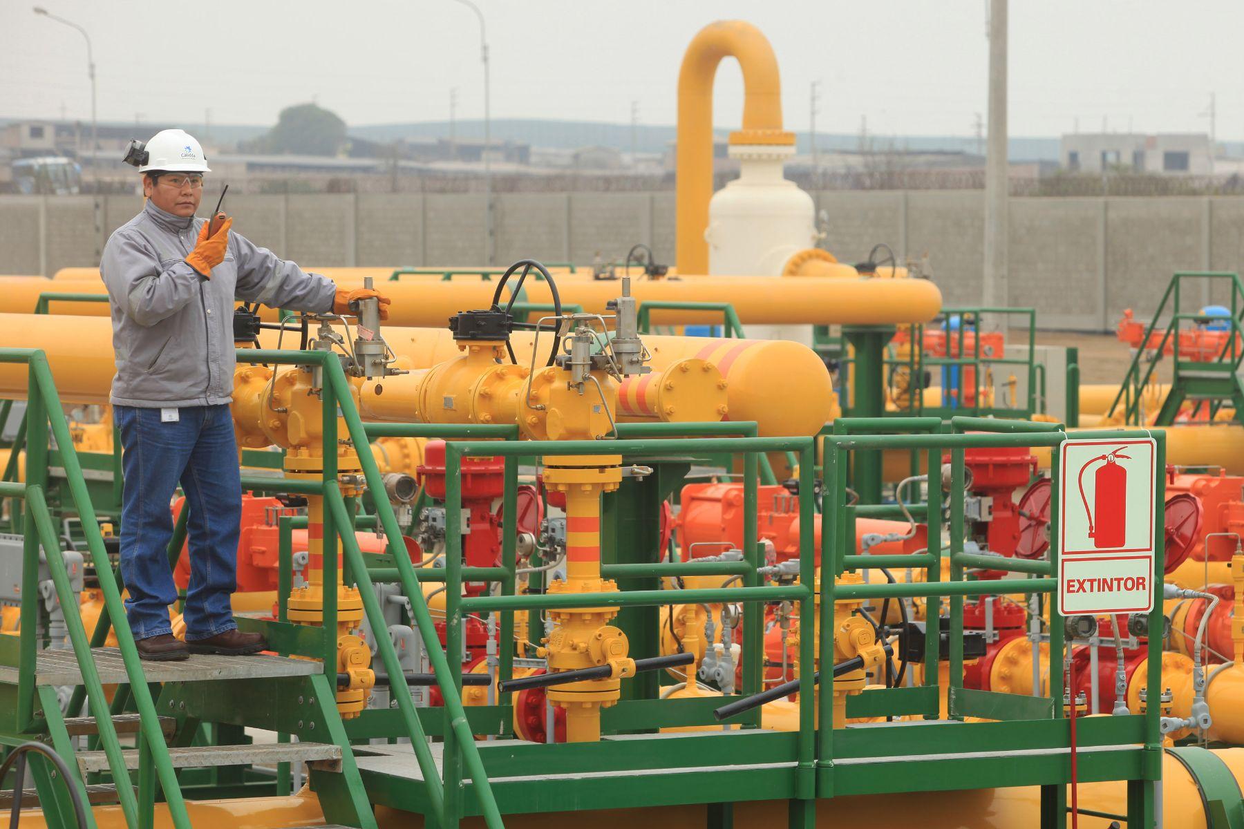 LIMA,PERÚ-JULIO 23. Inauguración de la ampliación de red de distribución del gas natural para Lima. Foto: ANDINA/Oscar Farje.