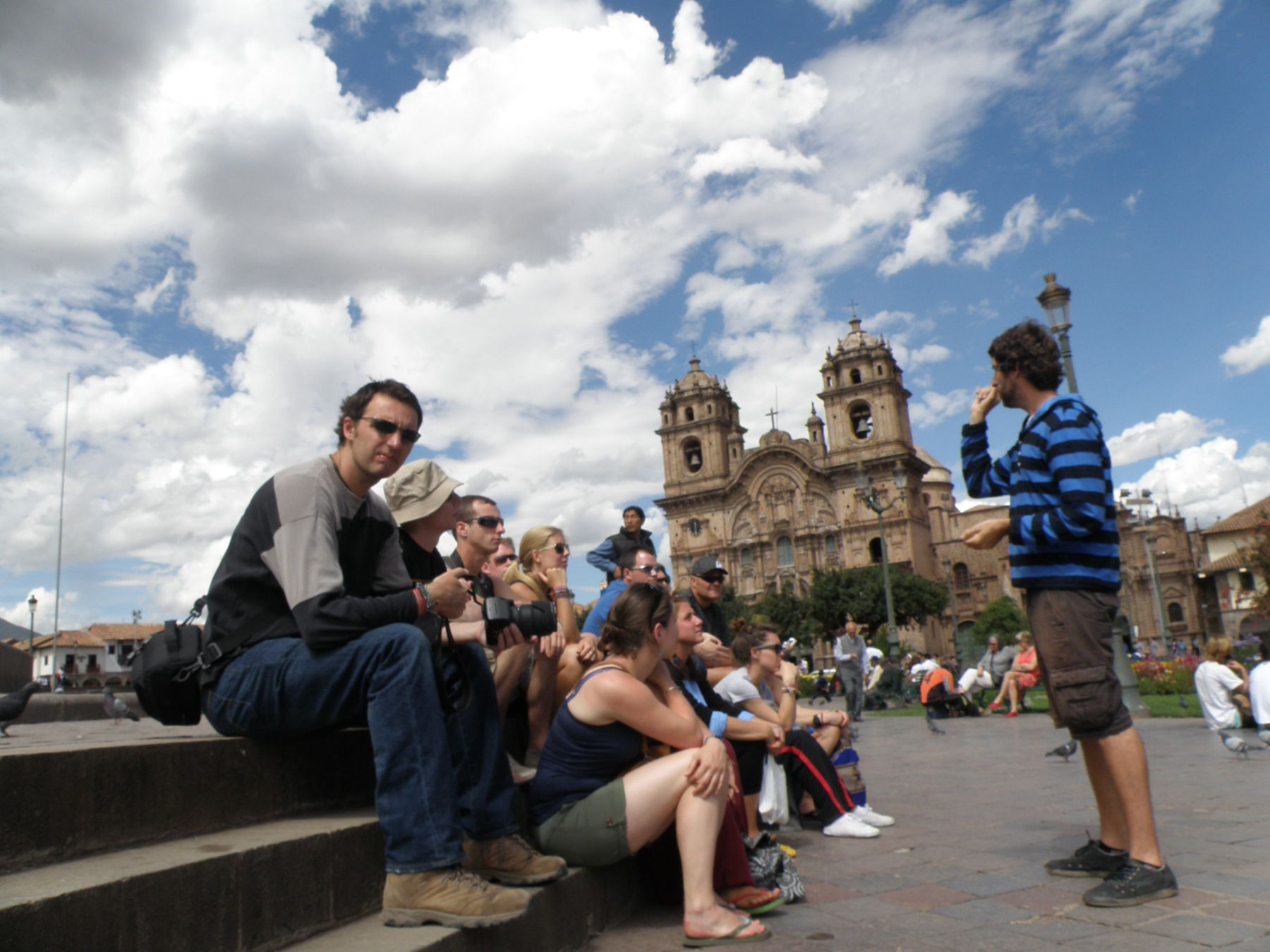 Reforzar la seguridad ciudadana permitirá una mayor afluencia de turistas a Cusco.