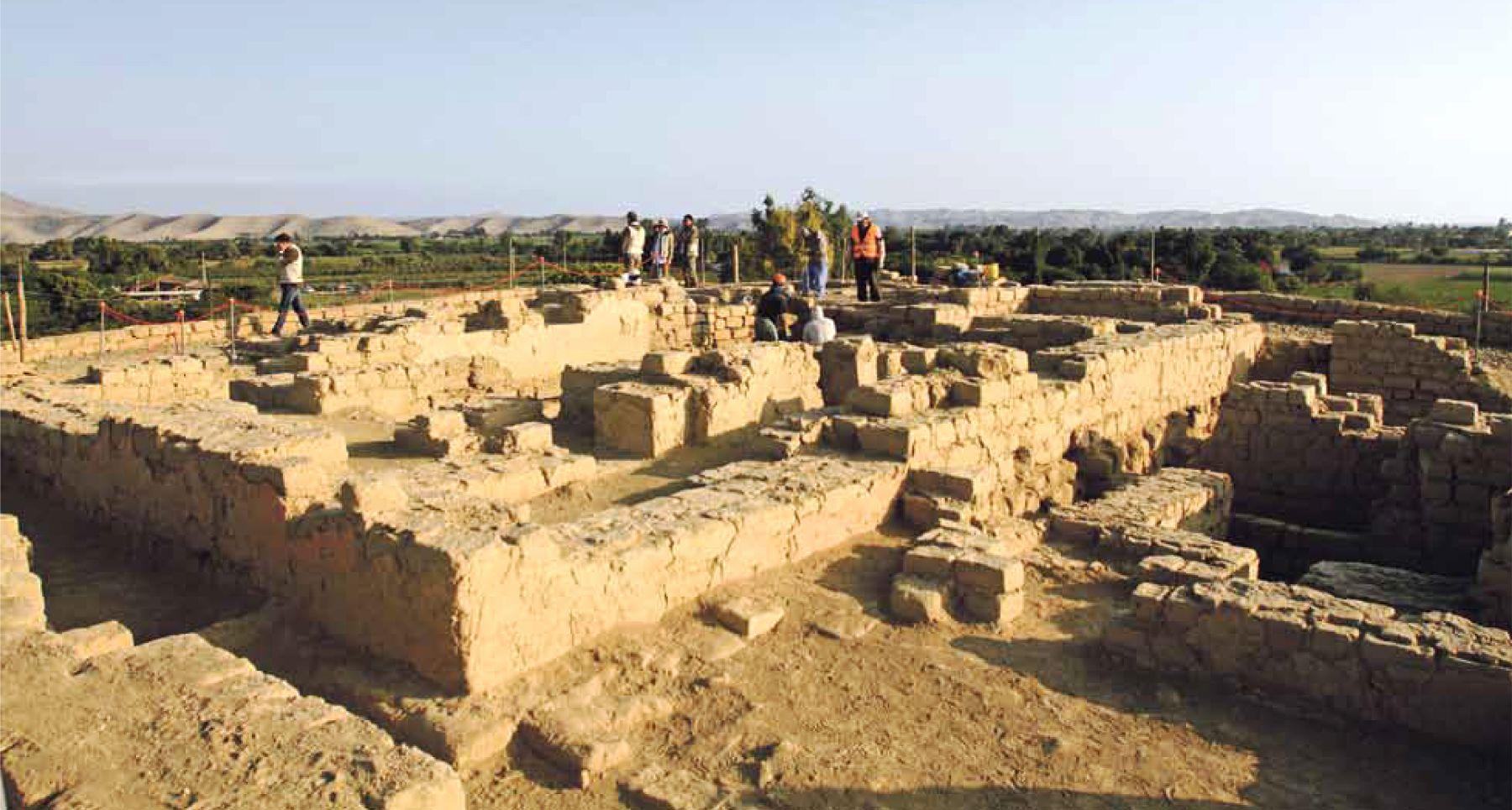 Los hallazgos se hicieron en el Castillo de Huarmey, al norte de Lima. Foto: Revista NEO-PUCP.