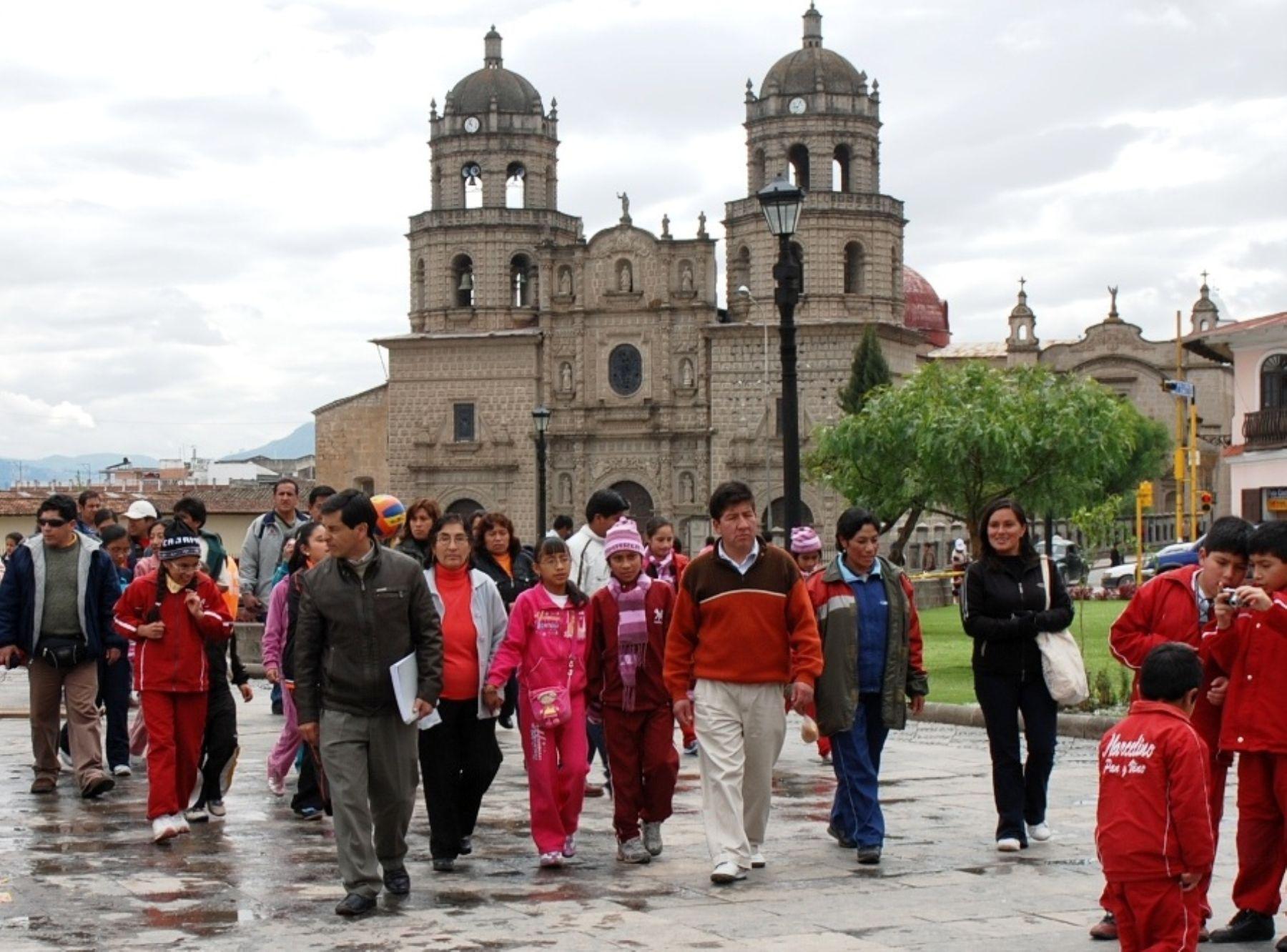 Cajamarca presenta plan para promocionar turismo regional con miras al Bicentenario. Foto: ANDINA/archivo