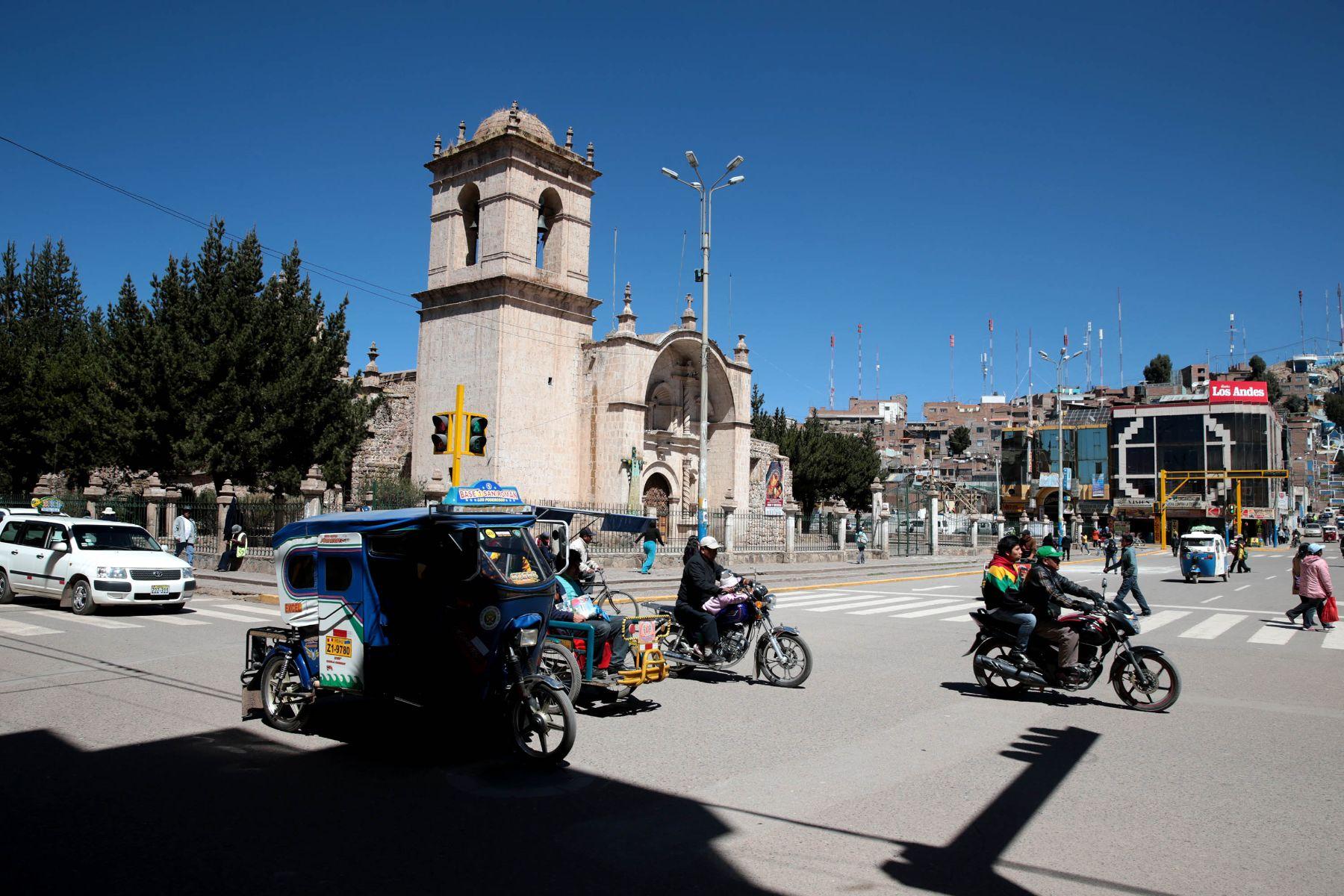 Juliaca sería una de las ciudades de Puno donde se implementaría Barrio Seguro. ANDINA/Carlos Lezama