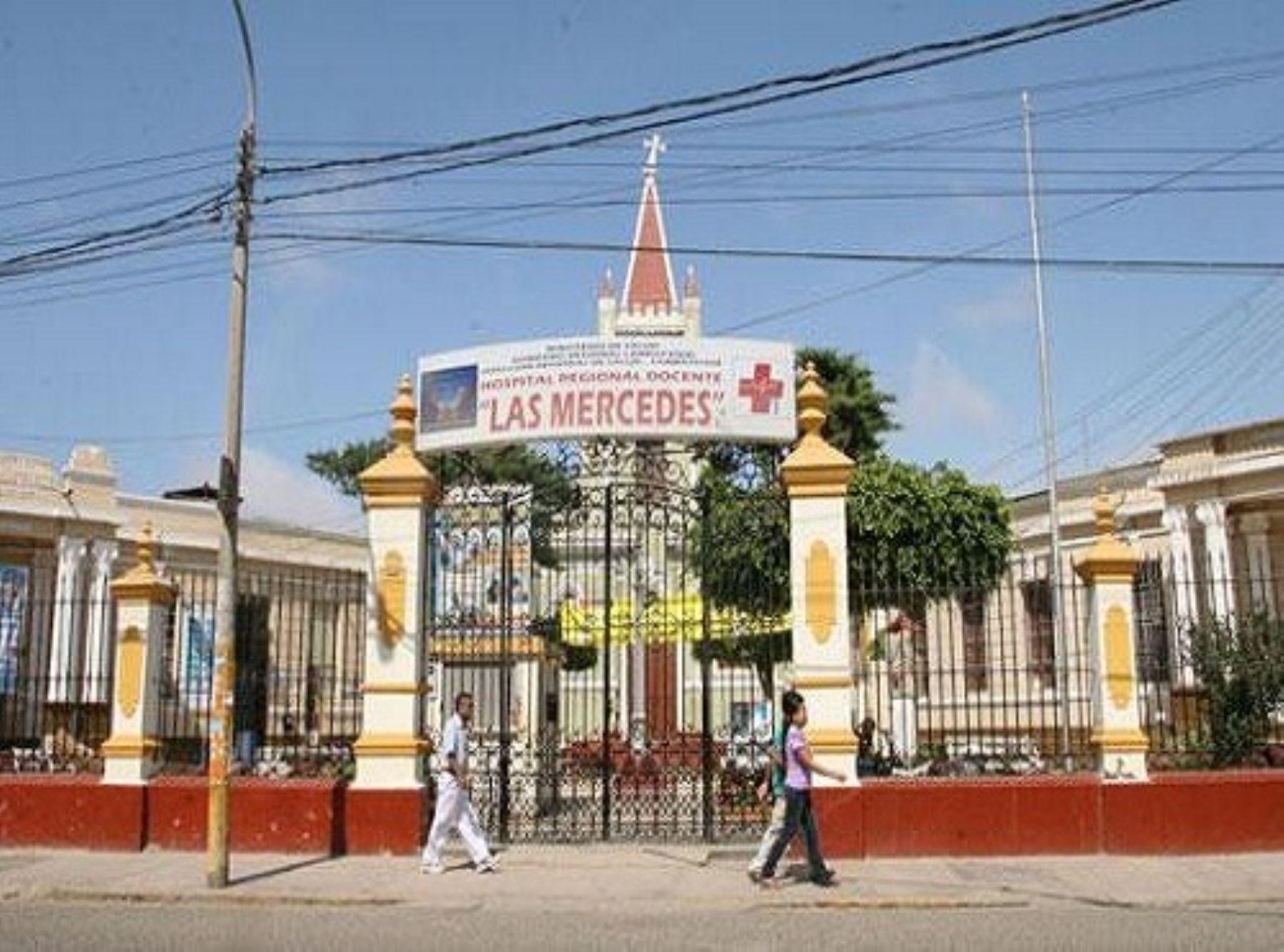 Hospital Las Mercedes de Chiclayo contará con tomógrafo computarizado. ANDINA/Difusión