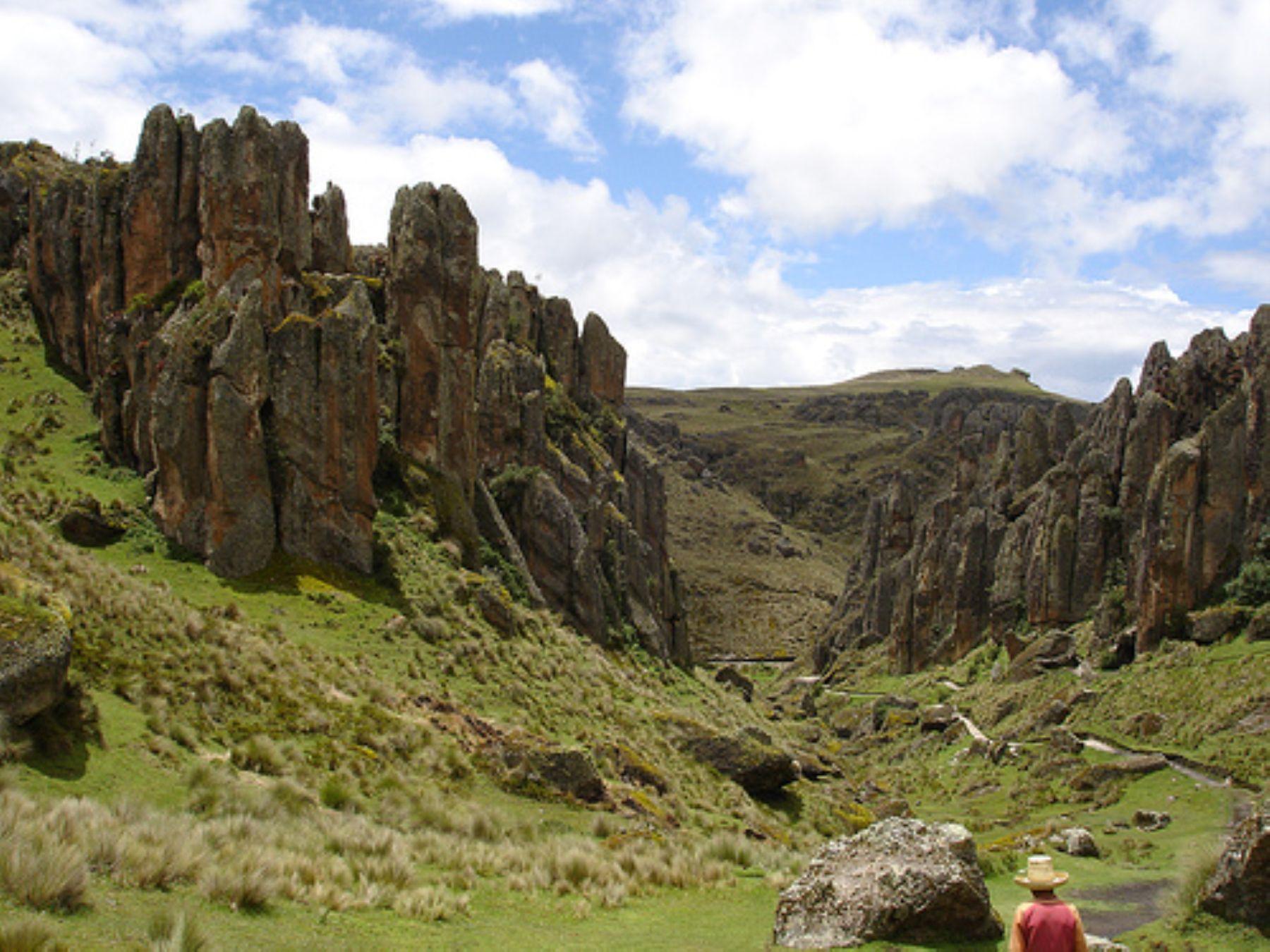 El complejo arqueológico del Gran Pajatén se ubica en el Parque Río Abiseo, región San Martín.