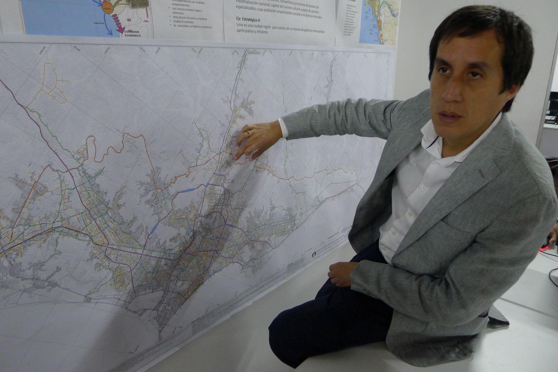 José García Calderón, coordinador técnico del Plan Metropolitano de Desarrollo Urbano. Foto: ANDINA/Difusión