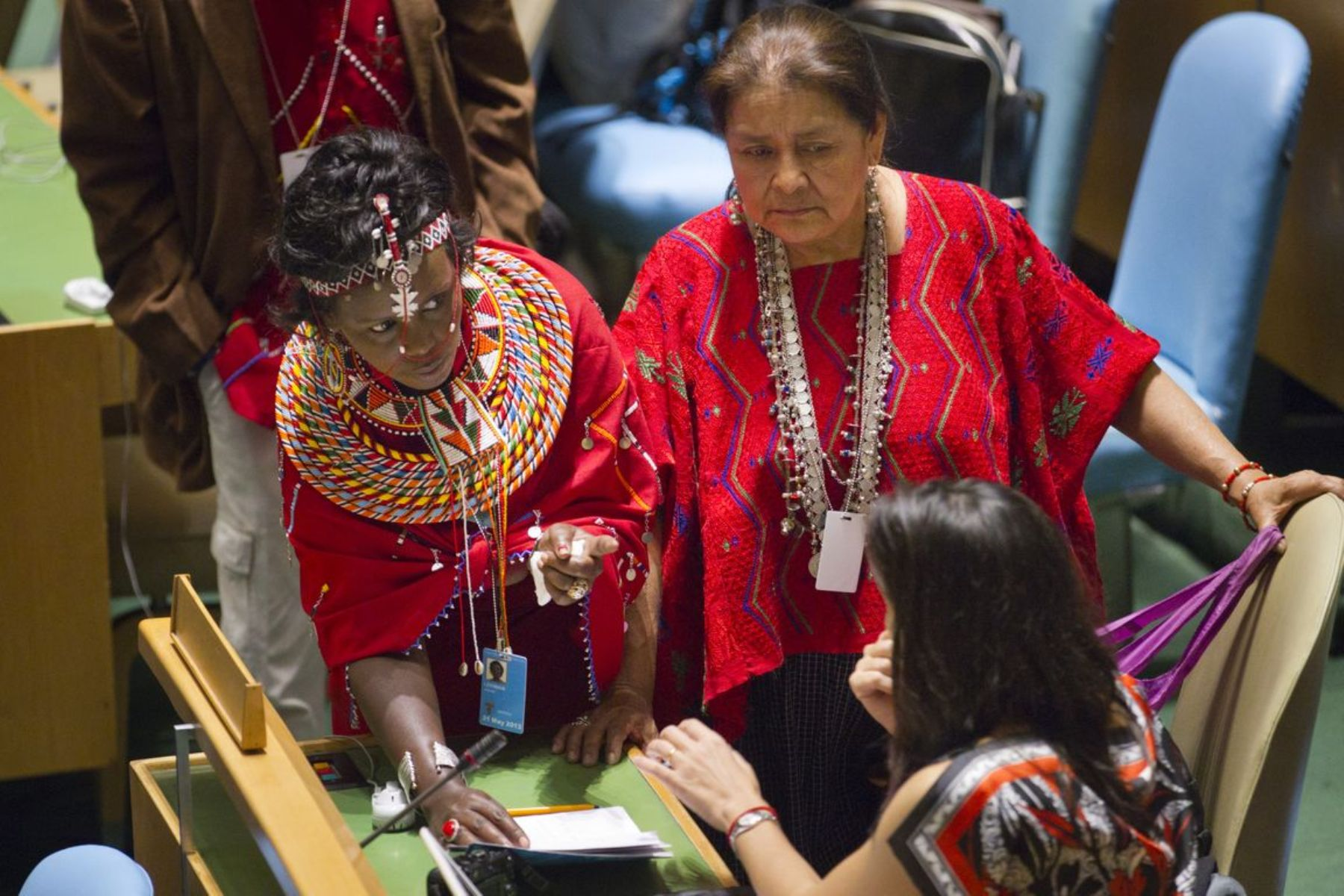 Peru has the second largest population of indigenous women in Latin America.