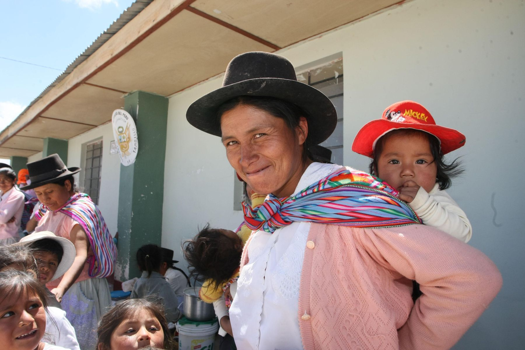 Huancavelica priorizará trabajo por la primera infancia y reducción de la anemia infantil. ANDINA/archivo