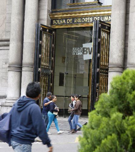 Bolsa de Valores de Lima (BVL). Foto: ANDINA/Norman Córdova