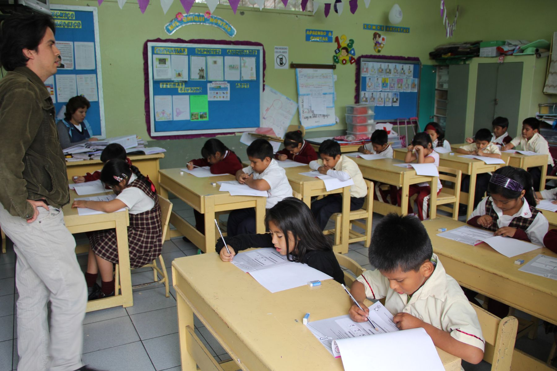 Estudiantes de primaria serán evaluados por Unesco. Foto: ANDINA/Difusión