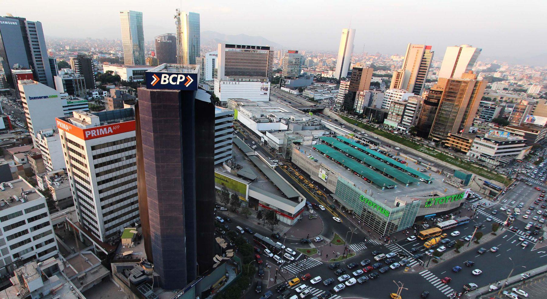centro financiero, Lima Perú.Foto: Archivo
