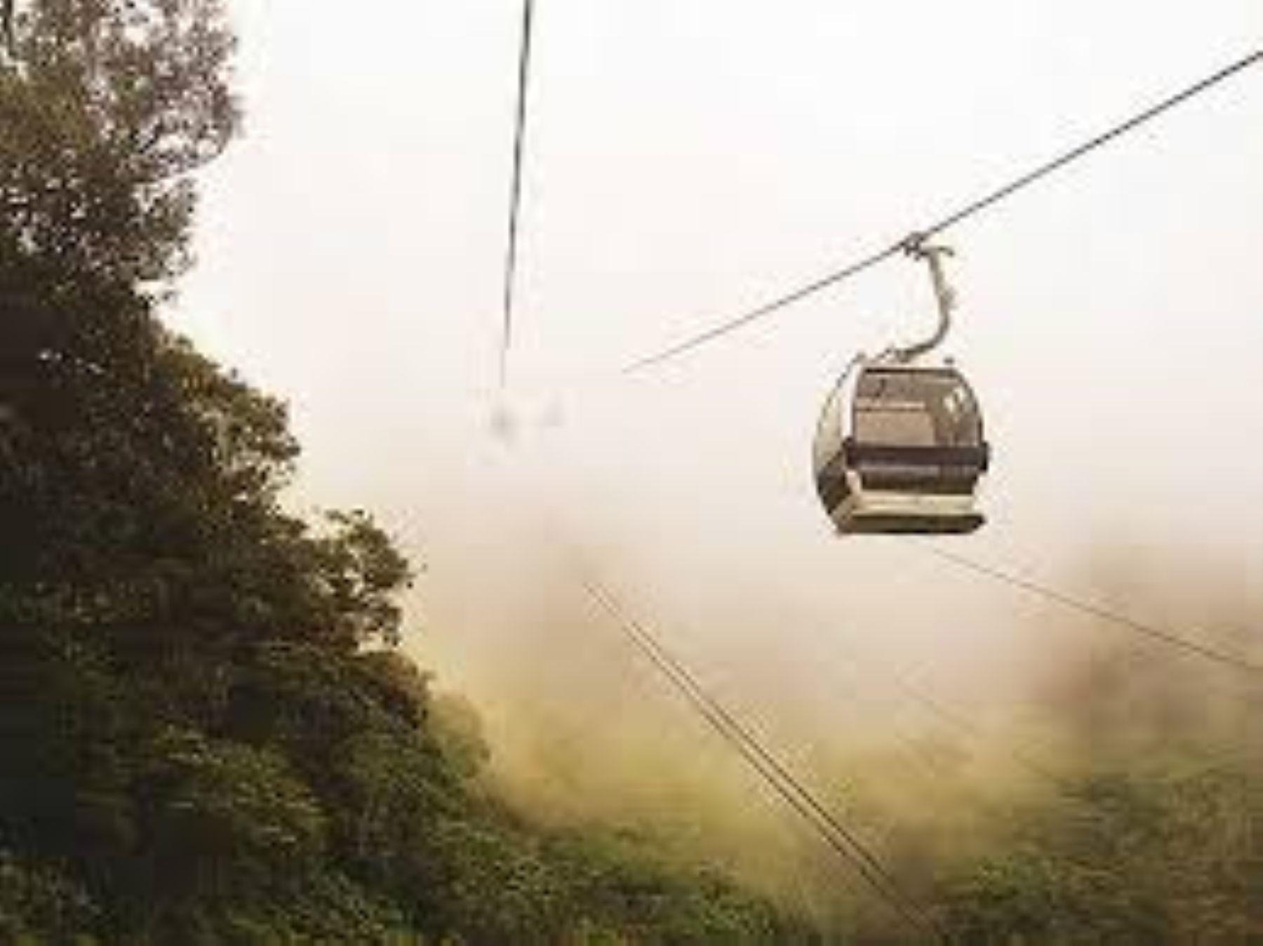 Teleférico impulsaría turismo en Áncash. INTERNET/Medios