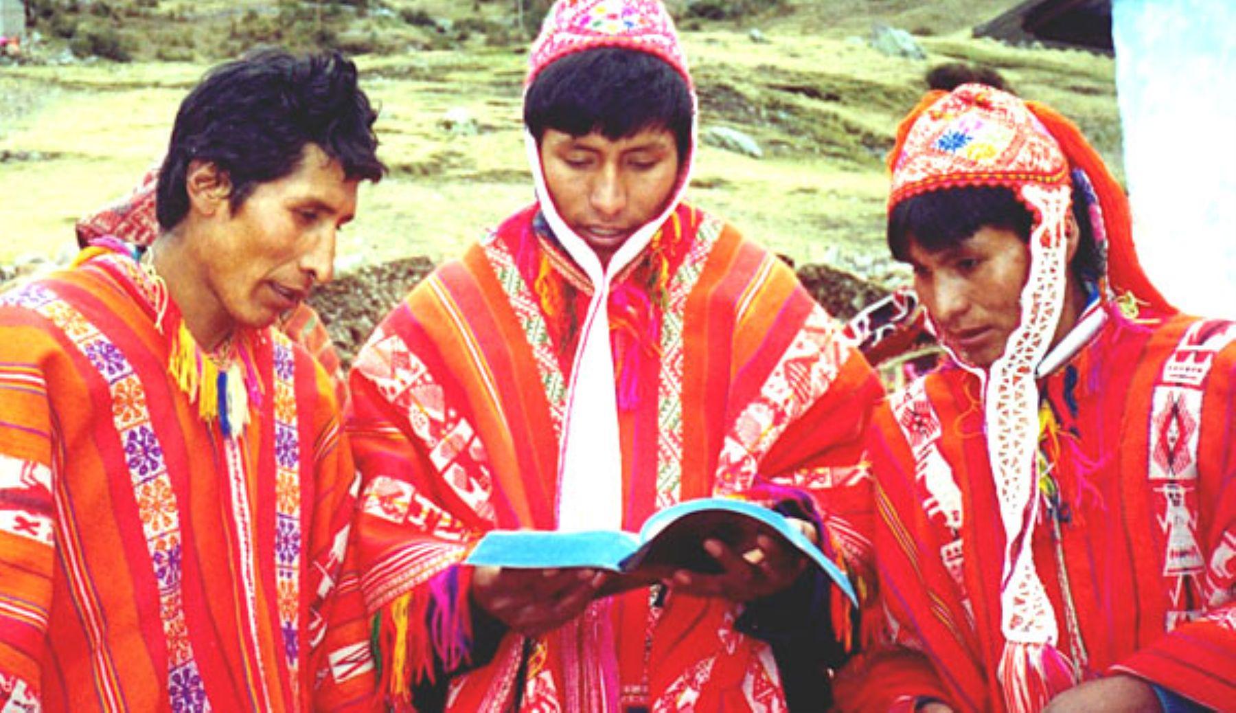 Emprenden medidas para preservar el idioma quechua   Noticias ...