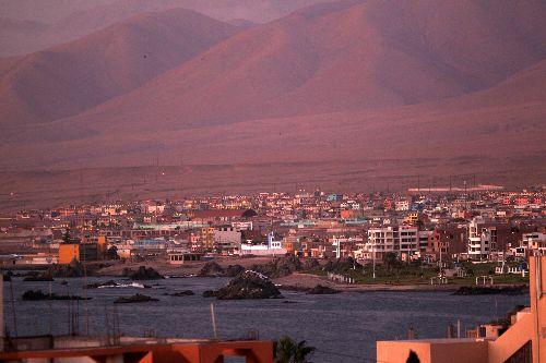 ILO fue remecida por un sismo de magnitud 5.2 esta madrugada. ANDINA/archivo