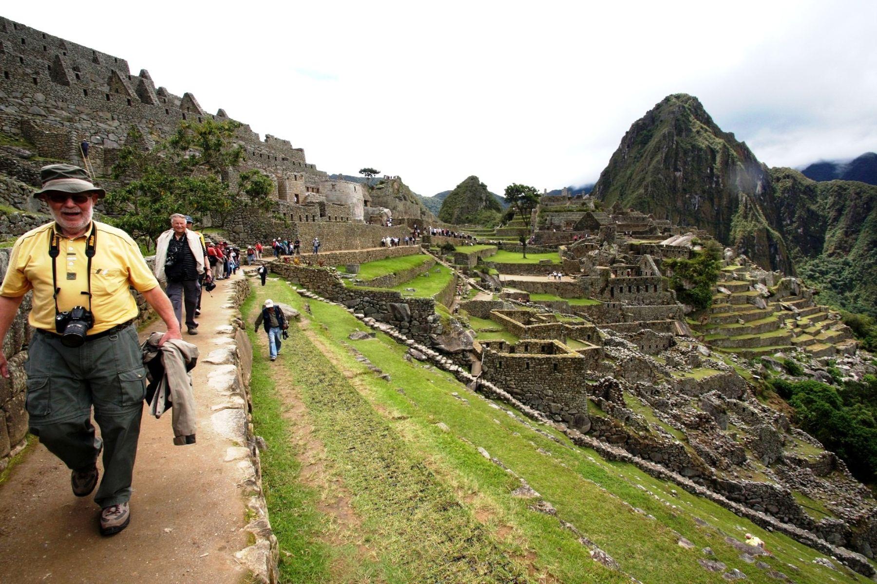 Inca citadel of Machu Picchu. Photo: ANDINA/Difusión.