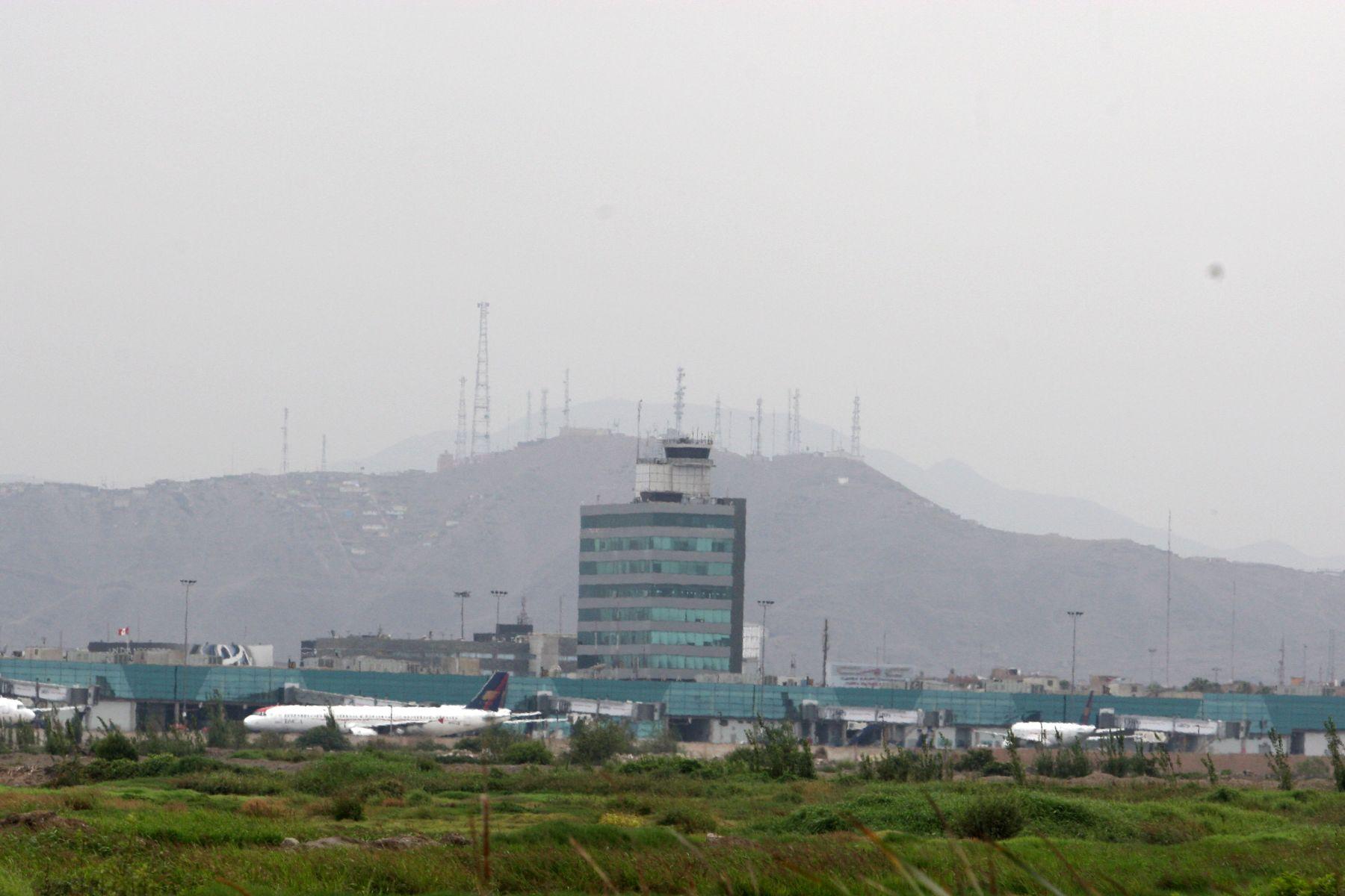 Aeropuerto Internacional Jorge Chávez. Foto: ANDINA/archivo