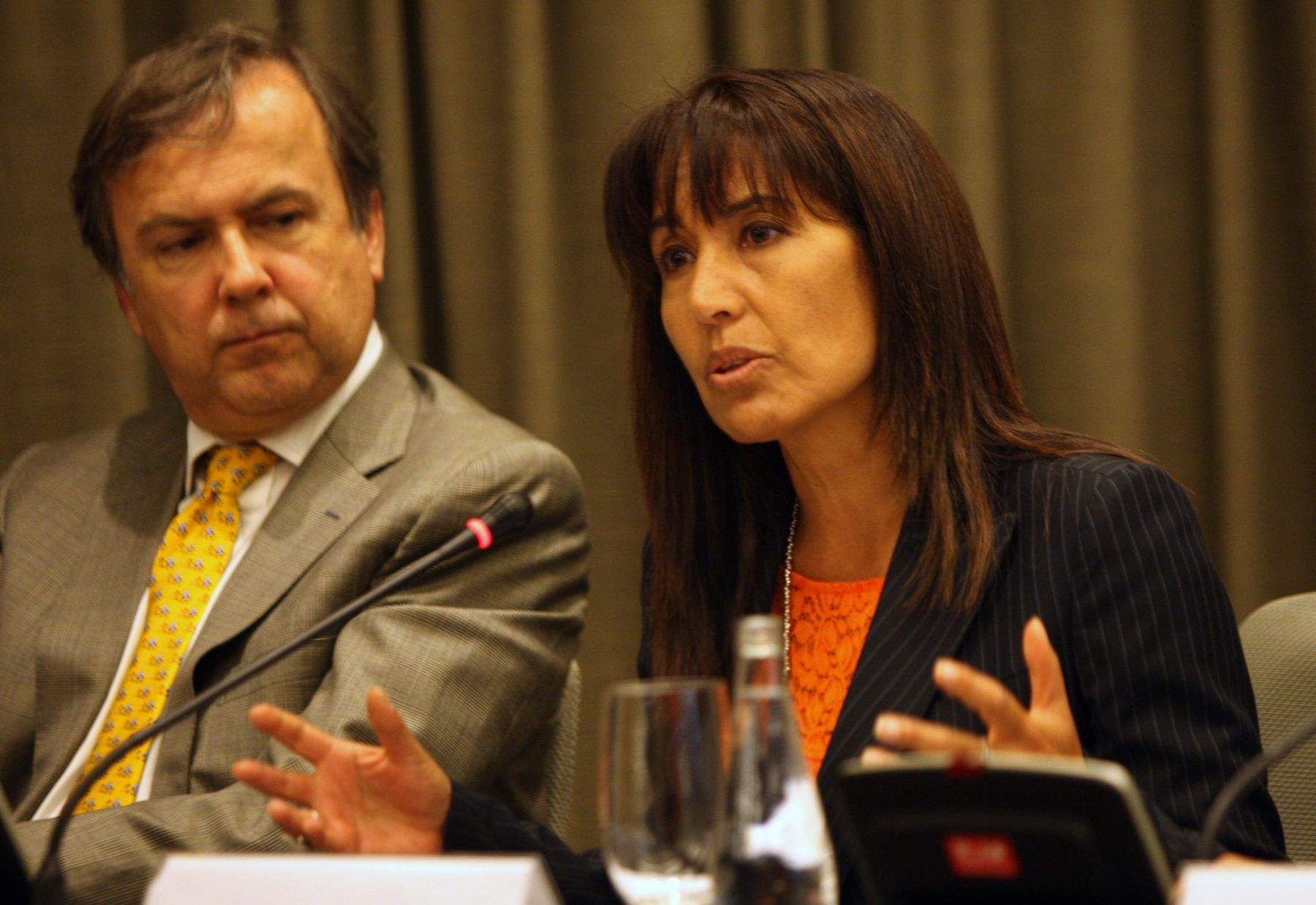 Peruvian Trade and Tourism Minister Magaly Silva.