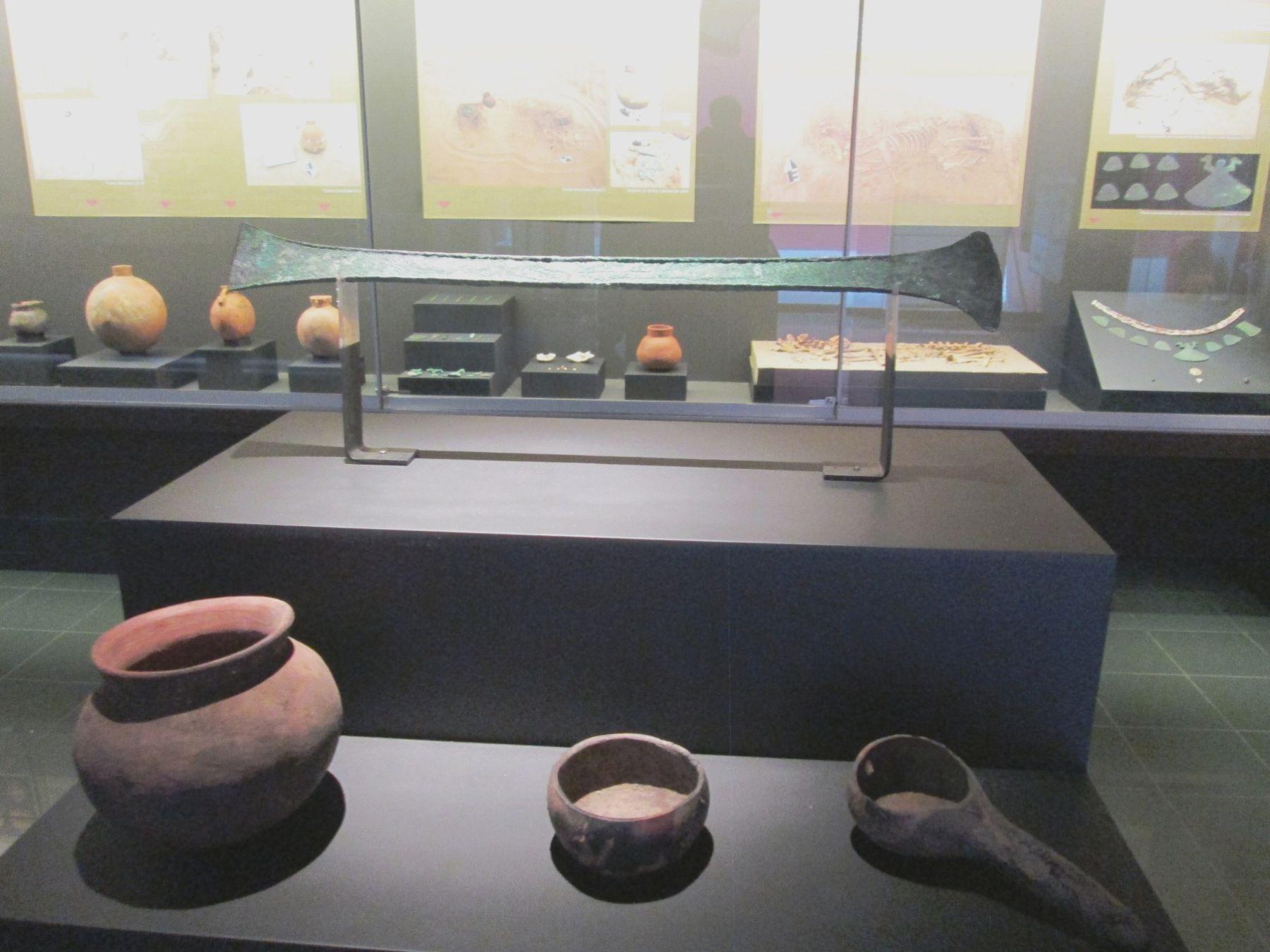 El museo de Sipán exhibe desde hoy piezas halladas en el complejo arqueológico El Chorro.