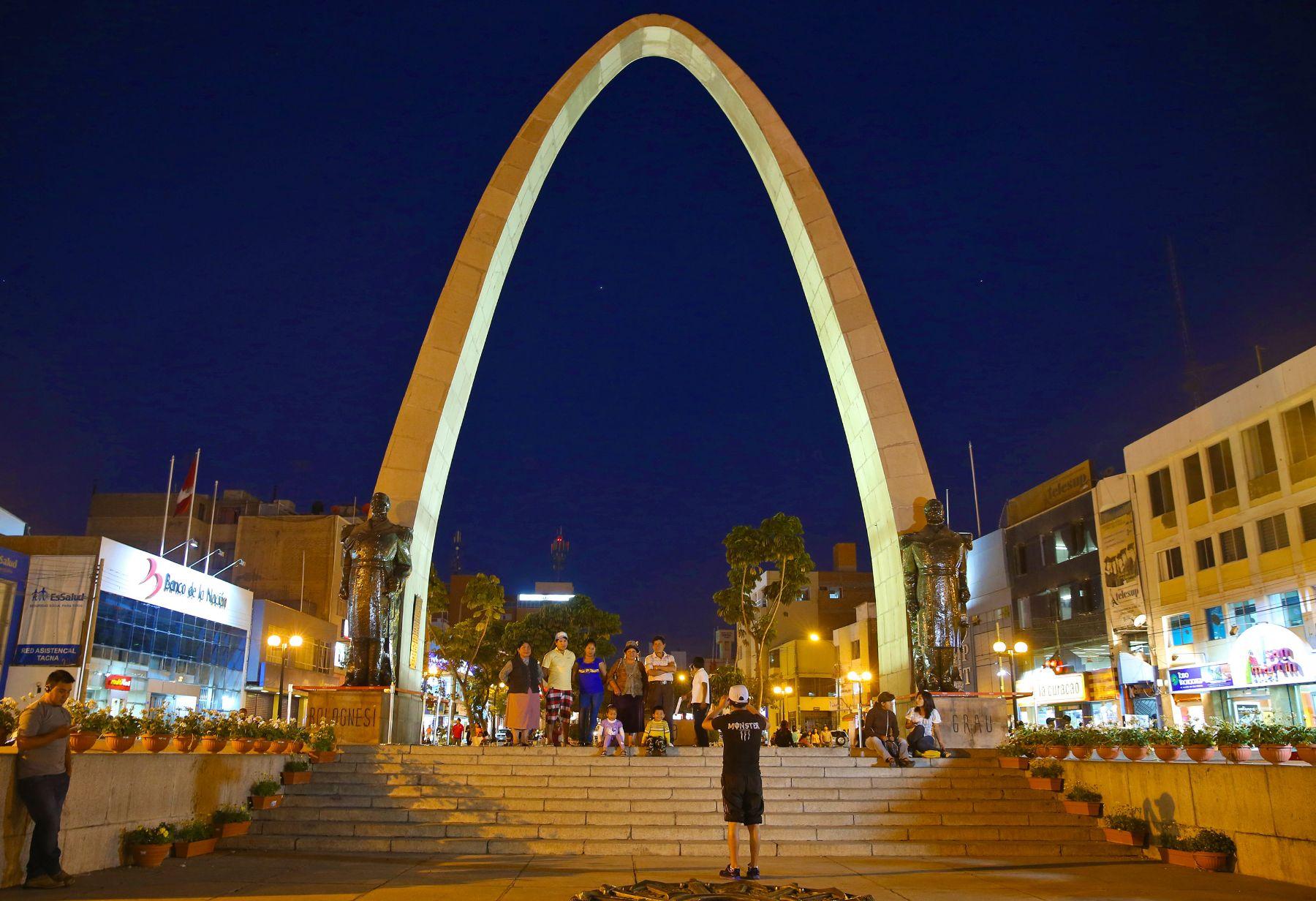 Tacna fue remecida esta madrugada por sismo de magnitud 4.1. ANDINA/archivo