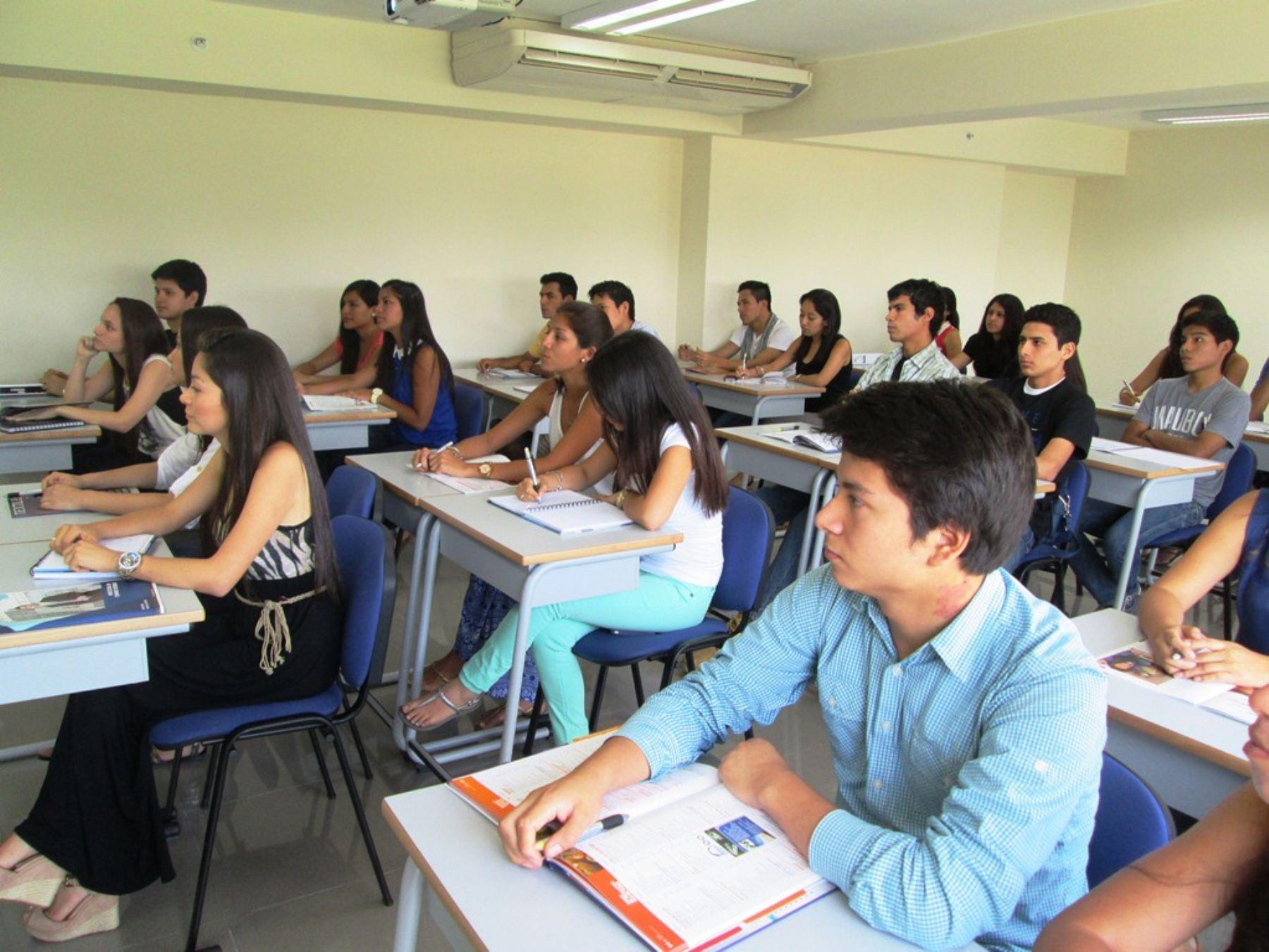 Foto: Beca 18 ofrece carrera de Administración de Negocios Internacionales. Foto: Andina/Difusión.
