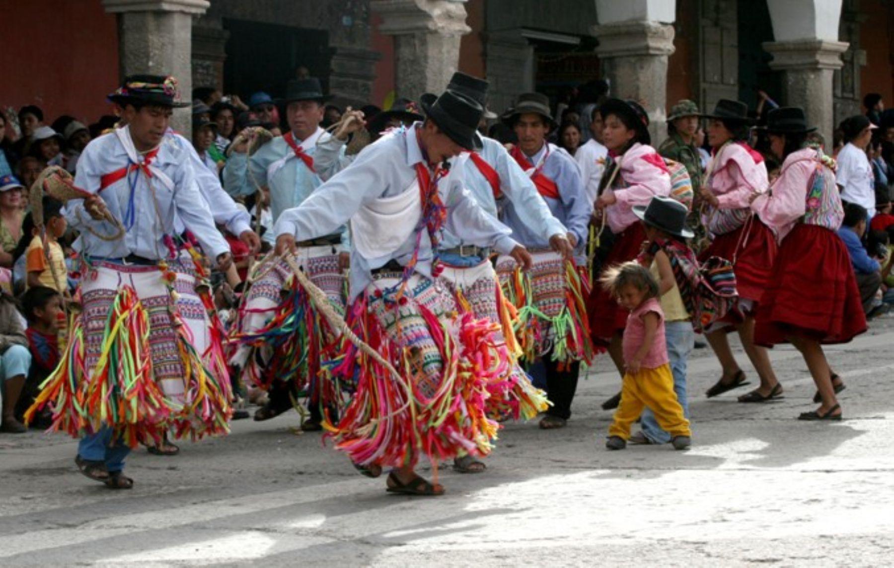 El carnaval de Ayacucho es reconocido como Patrimonio Cultural de la Nación.