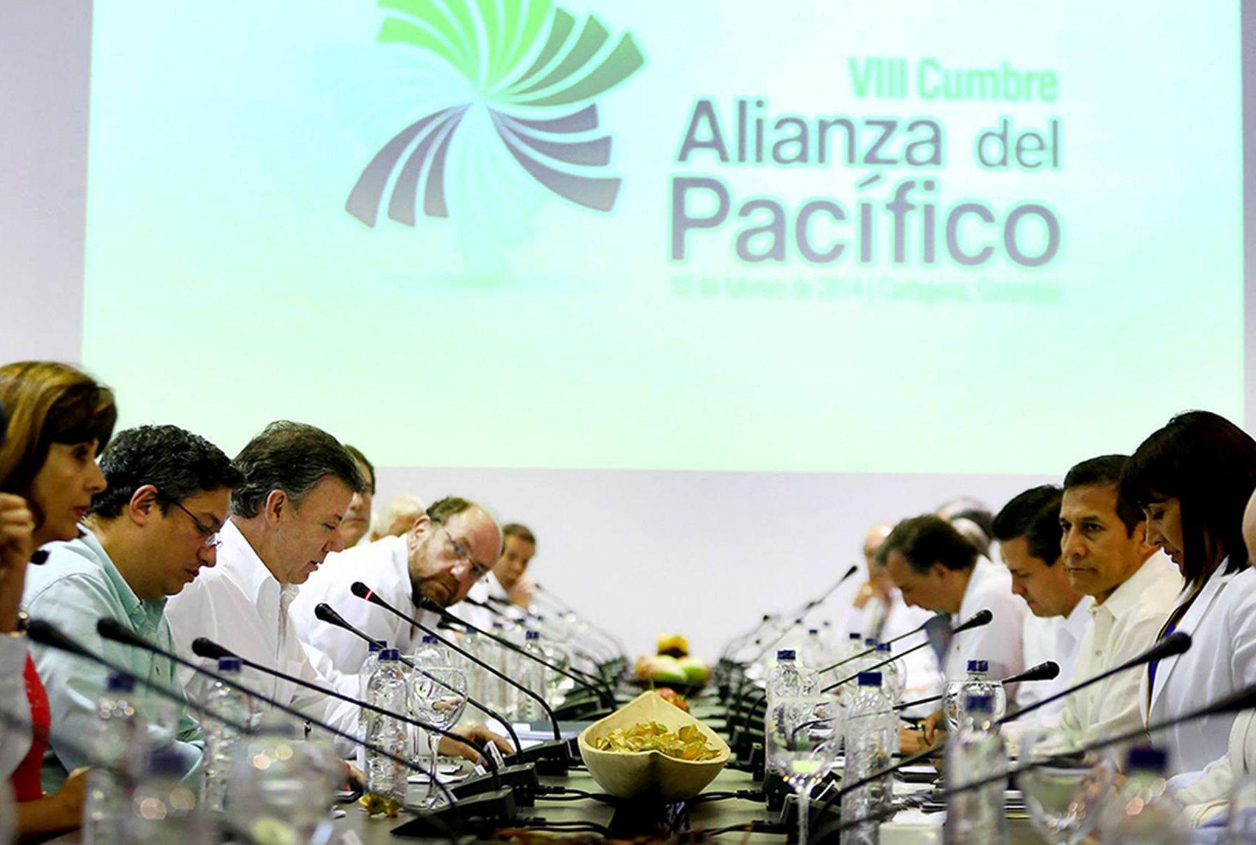 Presidente Humala participa en VIII Cumbre de Alianza del Pacífico, ANDINA/Prensa Presidencia
