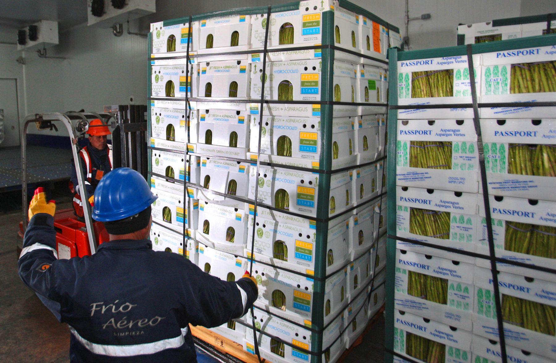 Agroexportaciones.Foto:ANDINA