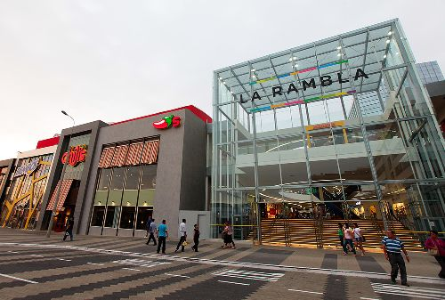 Centros comerciales. Foto: ANDINA/Carlos Lezama