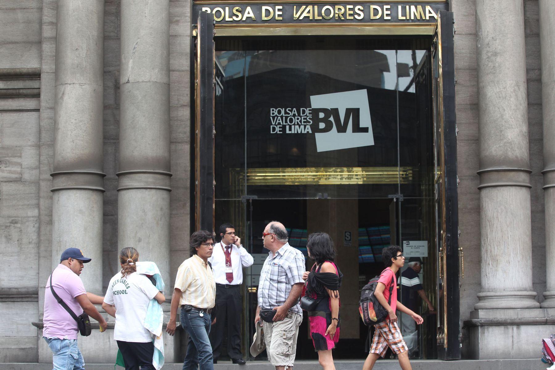 Bolsa de Valores de Lima (BVL). Foto: ANDINA/Vidal Tarqui