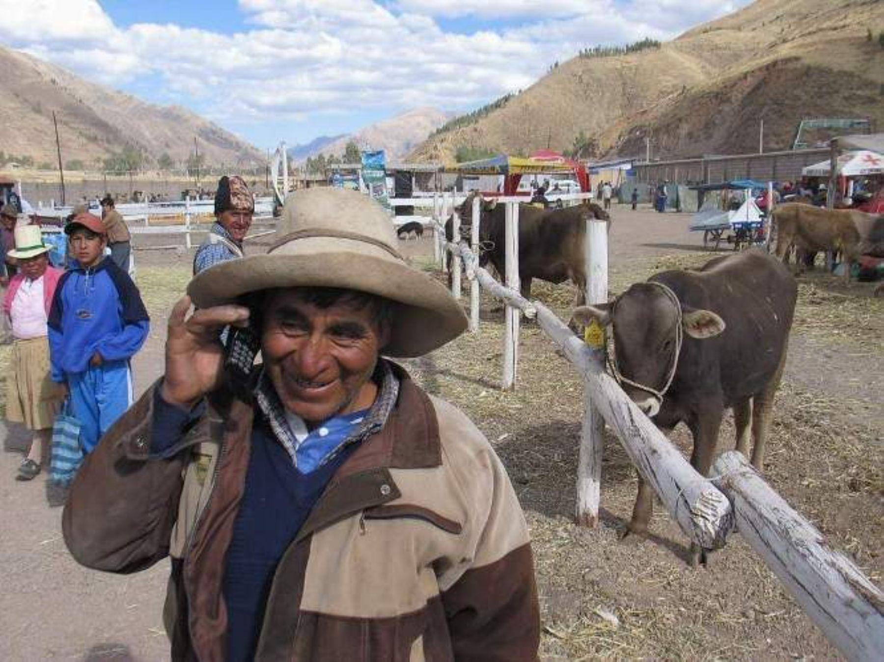 Los pobladores del distrito de Yauya, en Áncash, se beneficiarán con las mejoras en el servicio de telefonía rural.
