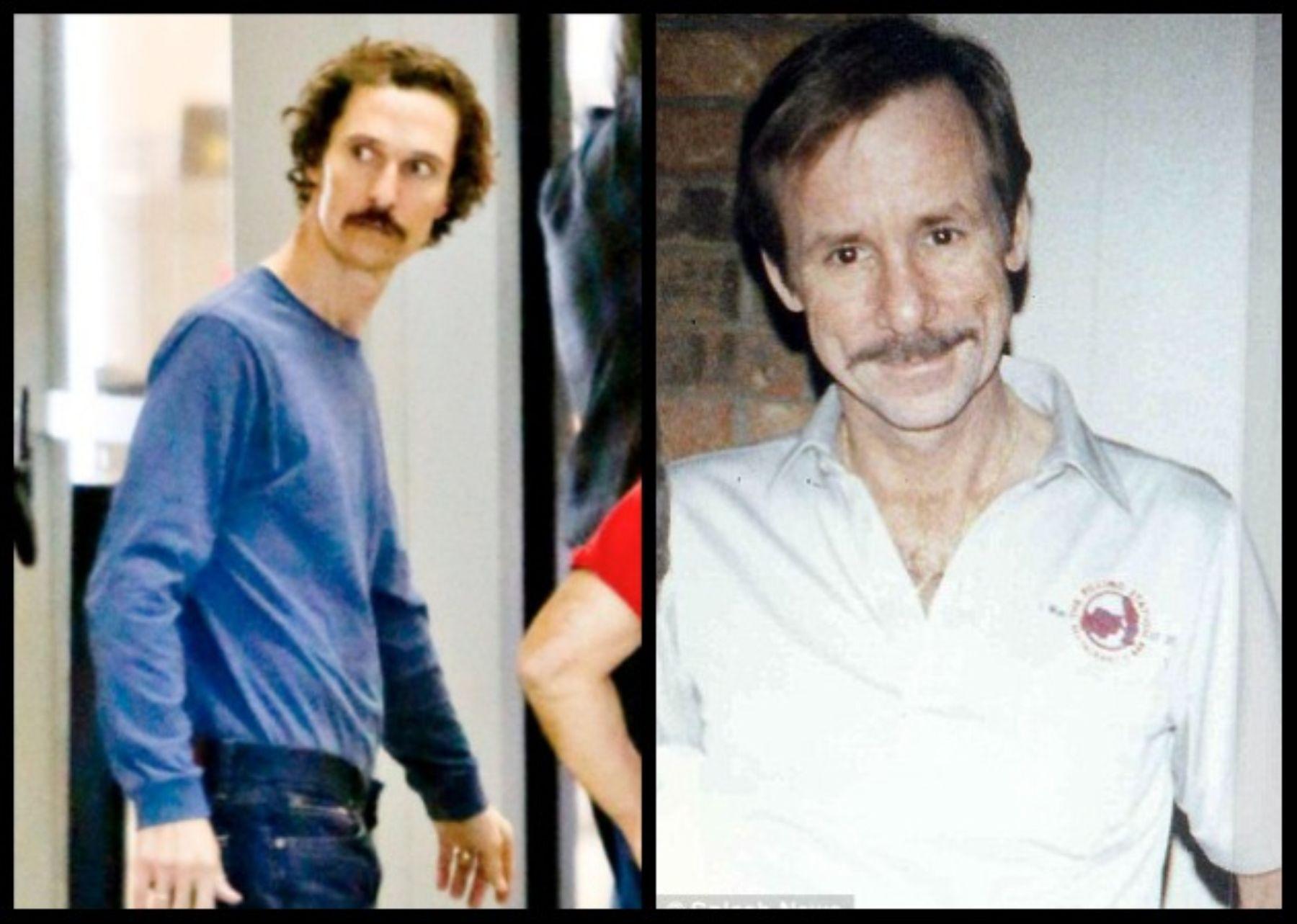 Matthew McConaughey y Ron Woodroof