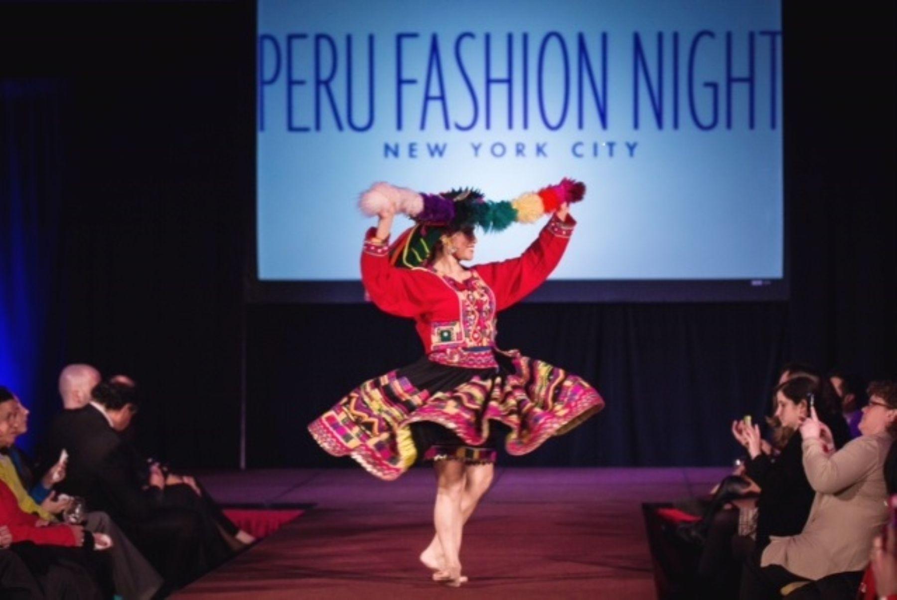 Peru Fashion Night in New York City.